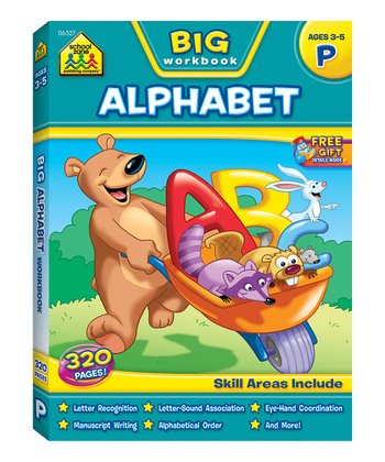 Big Alphabet Workbook Paperback