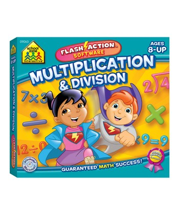 Multiplication & Division Flash-Action CD-ROM