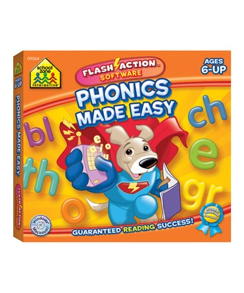 Phonics Made Easy Flash-Action CD-ROM