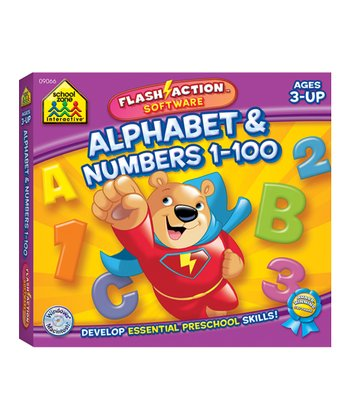 Alphabet & Numbers Flash-Action CD-ROM