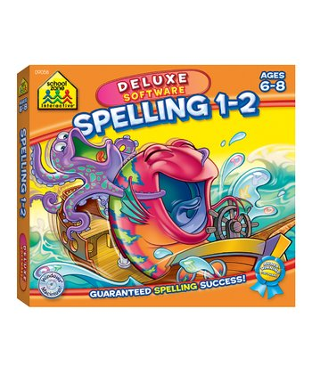 Grades 1 to 2 Spelling Deluxe CD-ROM