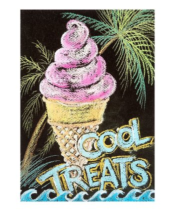'Cool Treats' Canvas Wall Art