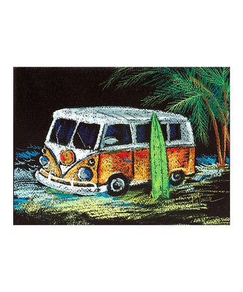 Vintage Surf Van Canvas Wall Art