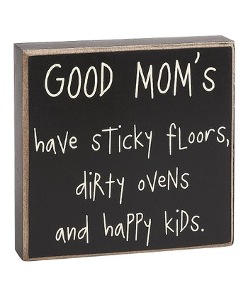 'Sticky Floors' Box Sign