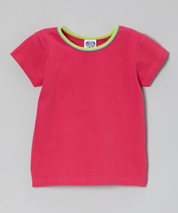 Hot Pink & Lime Tee - Infant, Toddler & Girls