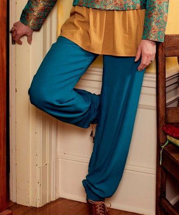 Teal Athena Lounge Pants