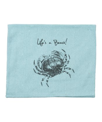'A Beach' Tea Towel