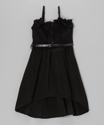 Blackthorn Belted Hi-Low Dress - Toddler & Girls