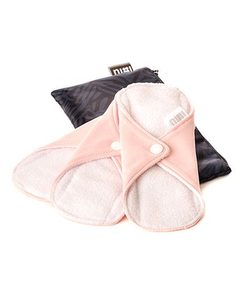 Pink Femme Pad & Black Carry Bag