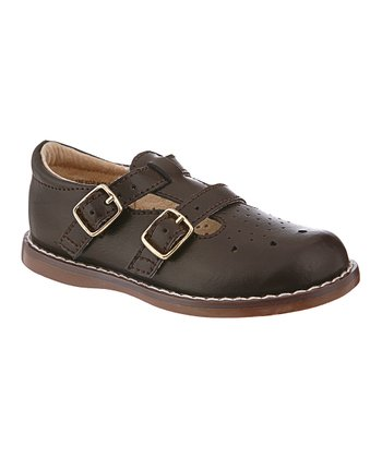 Brown Danielle T-Strap Shoe