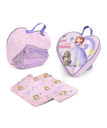 Sofia The First On-The-Go Pillow & Blanket Set