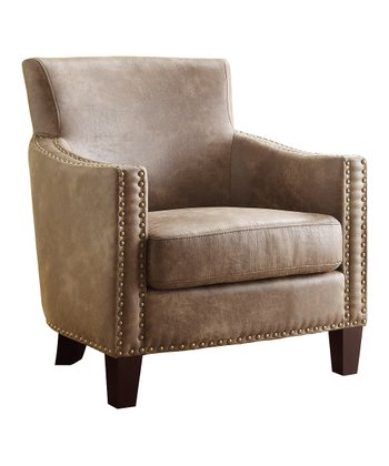 Dark Walnut Equestrian Armchair