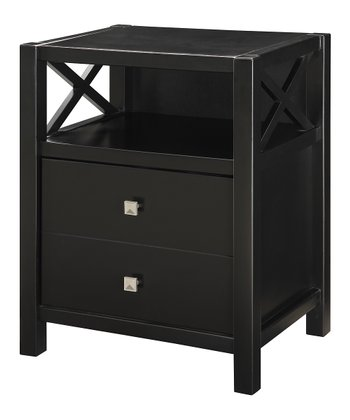 Black Anna End Table