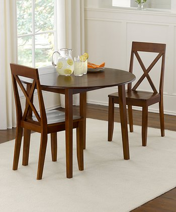 Espresso Drop Leaf Dining Set