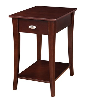 Espresso Accent Table
