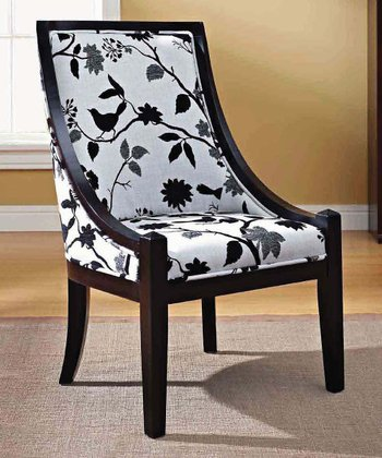 Black Sarah Accent Chair