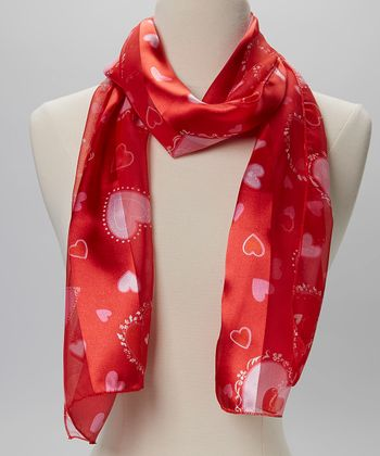 Red Heart Scarf