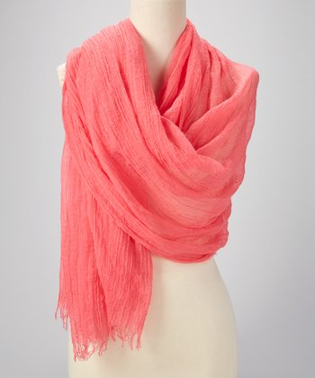 Pink Strawberry Scarf