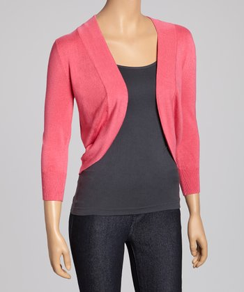Honeysuckle Shrug - Women
