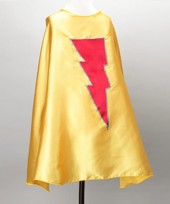Yellow & Red Lightning Cape