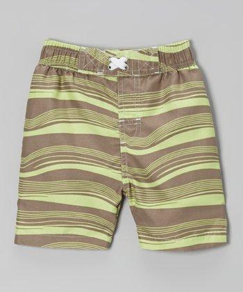 Mud Waves Swim Trunks - Infant, Toddler & Boys
