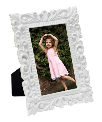 White Vine Photo Frame