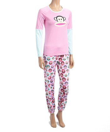 Pink Paul Frank Pajamas
