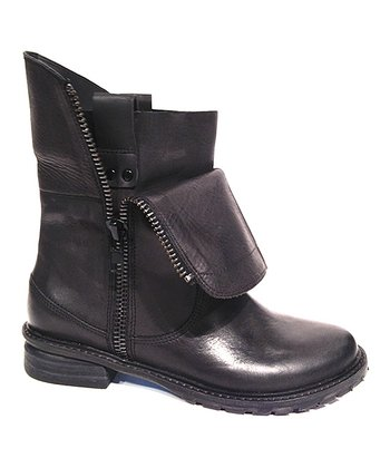 Black Steady Clo Boot - Women