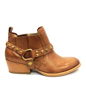Tan Rock N Raw Ankle Boot - Women