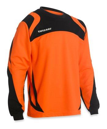 Vizari Orange & Black Avila Goalkeeper Jersey - Kids & Adult