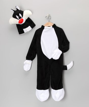 Black & White Sylvester Dress-Up Set - Infant