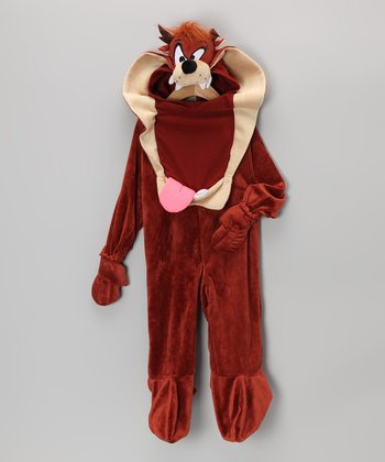 Brown Tasmanian Devil Dress-Up Set - Infant