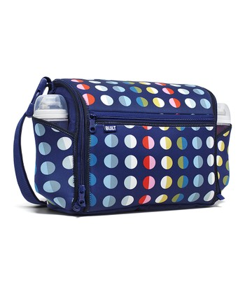 Rainbow Dot No. 9 Station Convertible Diaper Bag
