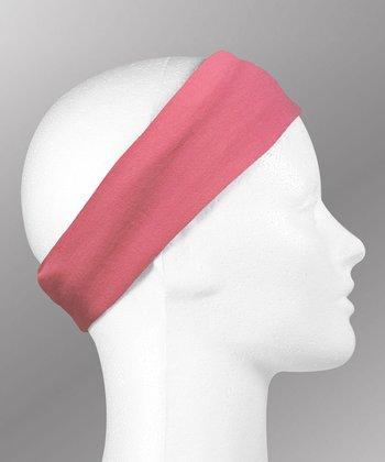 Gone for a Run Light Pink Running Headband