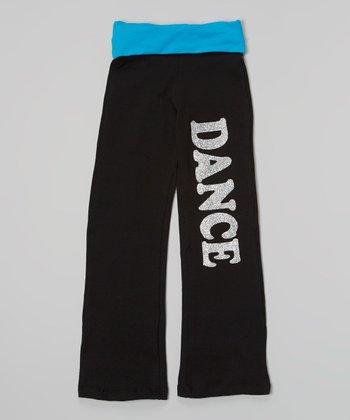 Happy Kids for Kids Black & Blue Glitter 'Dance' - Girls