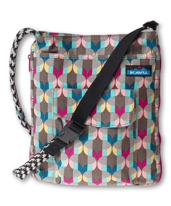 Lantern Stripe Sidewinder Crossbody Bag