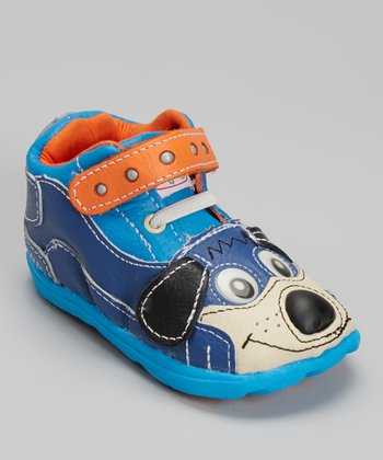 Zooligans Navy & Blue Sparky the Puppy Shoe