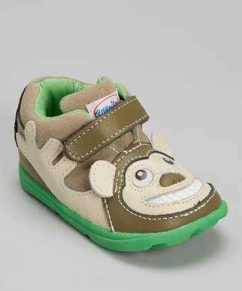 Zooligans Olive Bobo the Monkey Shoe