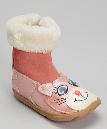 Zooligans Pink Kat the Kitty Boot