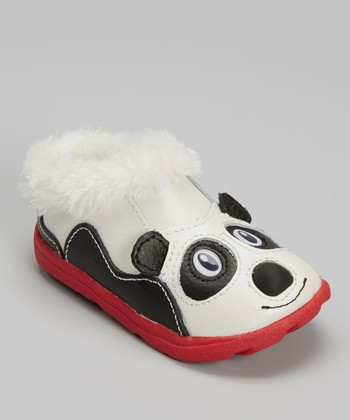 Zooligans Pearl & Black Amanda the Panda Clog
