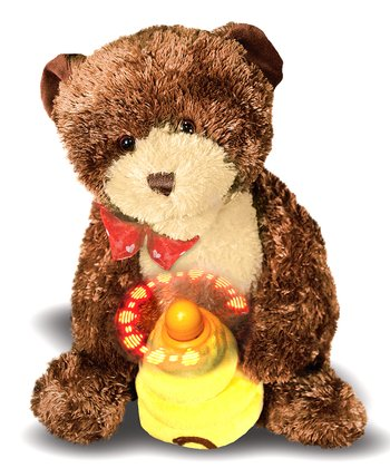 Hunny Bear Musical Light-Up Plush Toy