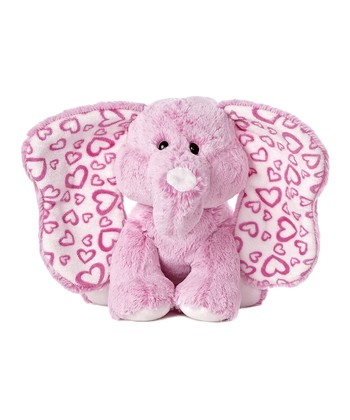 Pink Promise Elephant 12'' Plush Toy