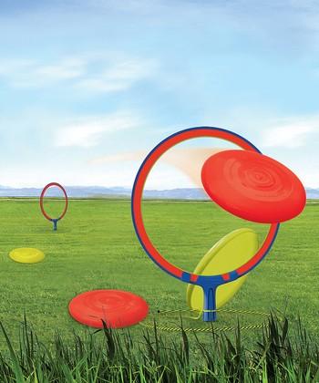 Frisbee Horseshoes Set