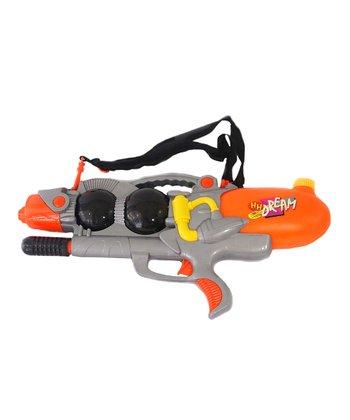 Orange & Gray Super Shooter Water Gun