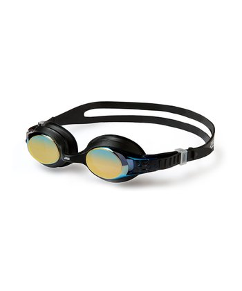 Black & Gold Mirrored Zoggles