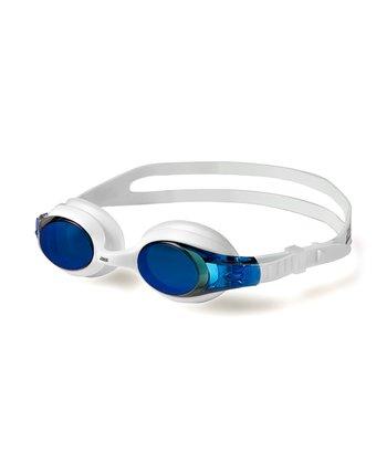 White & Light Blue Mirrored Zoggles