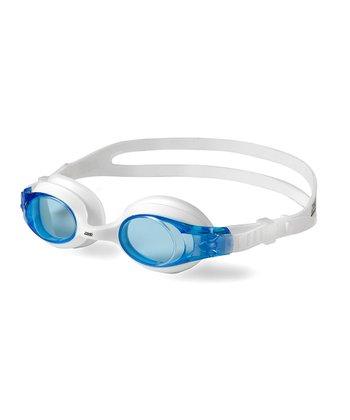 White & Light Blue Zoggles