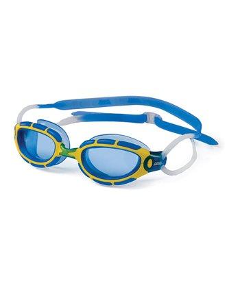 Yellow & Blue Lil Predator Goggles