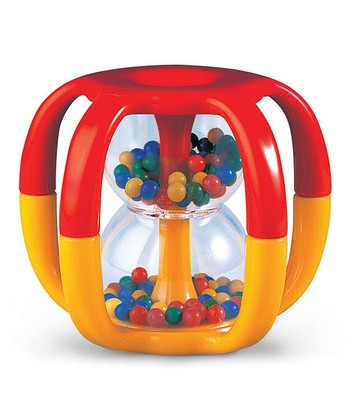 Red & Yellow Gripper Rattle