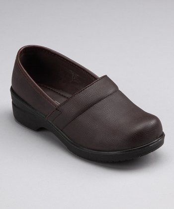 Brown Smooth Clog